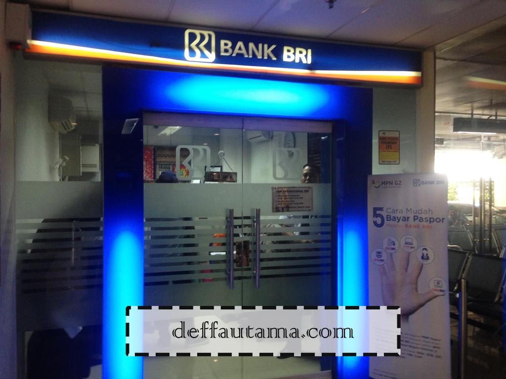 Membuat E-Paspor di Jakarta - Bank BRI