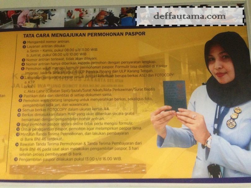 Membuat E-Paspor di Jakarta - One Stop Service