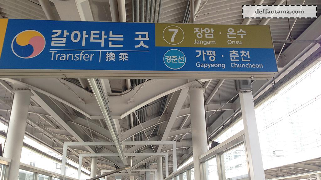 Cara Mudah dan Murah ke Nami Island - Gyeongchun Line