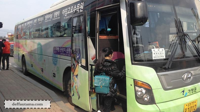 Cara Mudah dan Murah ke Nami Island - Shuttle Bus